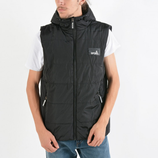 Body Action Zip-Through Quilted Vest
