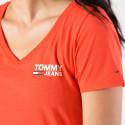Tommy Jeans Logo V-Neck Tee