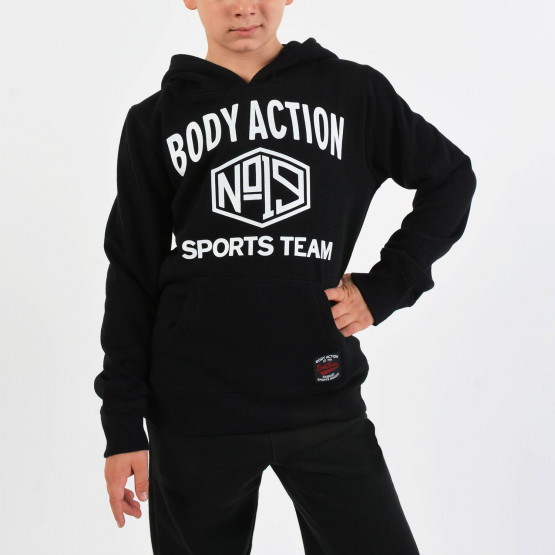 Body Action Boys' Basic Hoodie