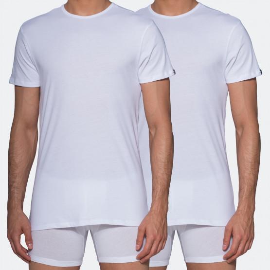 Puma Basic Crew Men's White Tee 2 Per Pack