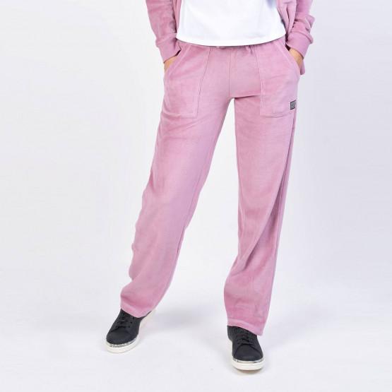 Body Action Basic Velour Pants - Γυναικεία Φόρμα