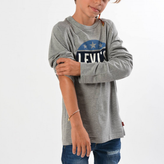 Levis Kids Long Sleeve Tee Roundgly