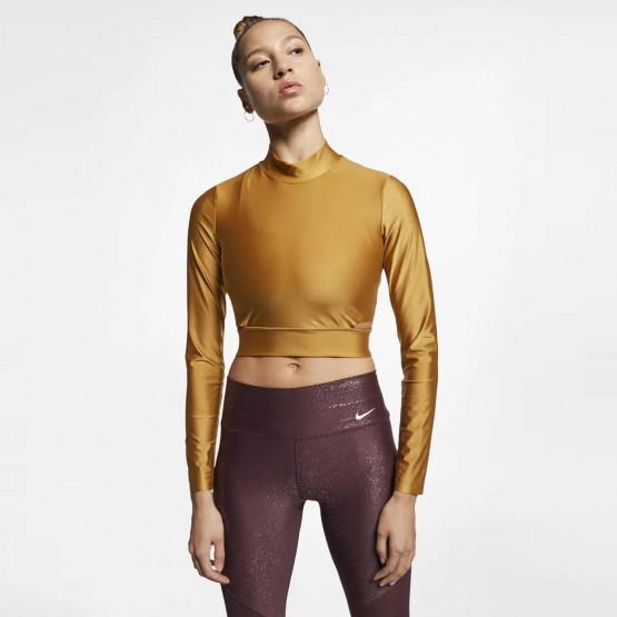 Nike Long- SLeeve Crop Top