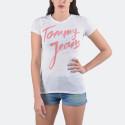 Tommy Jeans Cotton Blend Logo | Women's T-shirt