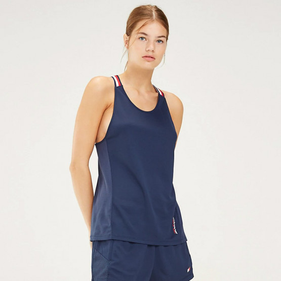 Tommy Sport Signature Tape Tank Top