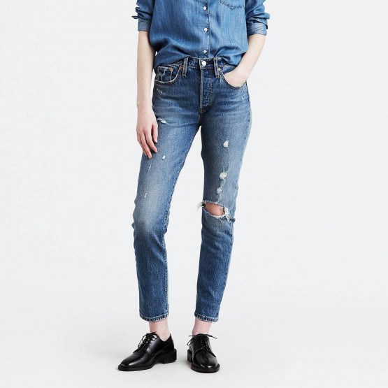 Levis 501 Customized Skinny Jeans