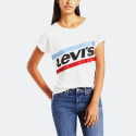 Levis Graphic Boyfriend Tee New Logo Cloud | Women's T-shirt