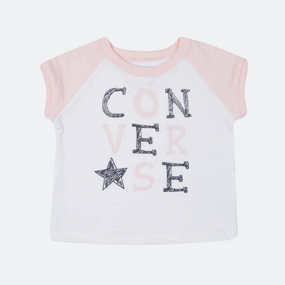 Converse Raglan Bubble Short Infant's Set