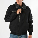 Basehit Men's Jacket With Fur Collar