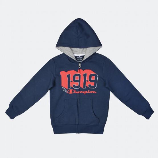 Champion Kid's Hooded Full Zip Sweatshirt