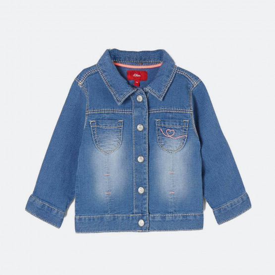 S.Oliver Denim jacket with press studs