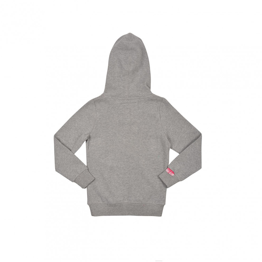 Body Action Girls Basic Hoodie