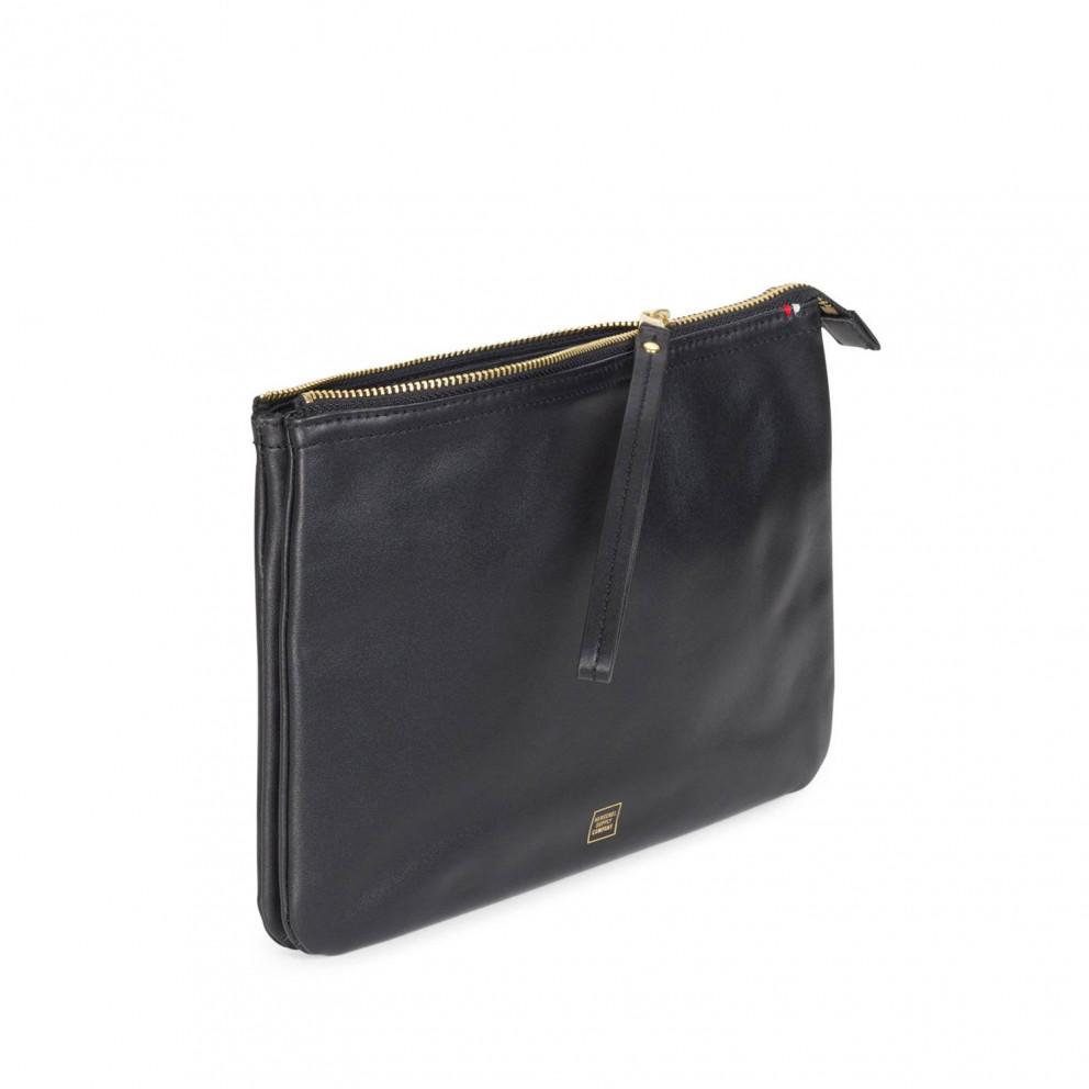 Herschel Napa Leather Xl Clutch