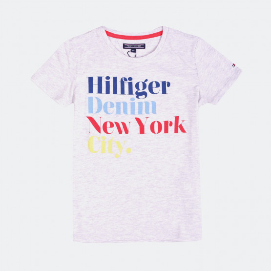 Tommy Jeans AME GIRLS ICONIC CN KNIT S/S 1
