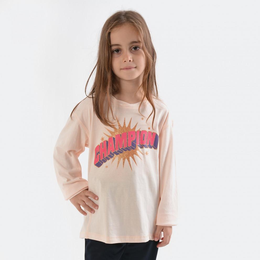 Champion Crewneck Long SLeeve T-Shirt