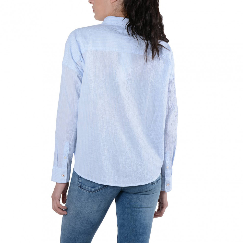 Tommy Jeans Oversized Seersu Women's Shirt