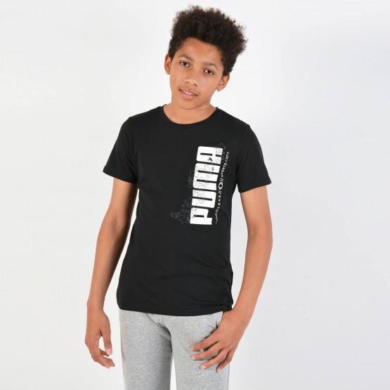 Puma Active Sports Boy's Tee - Παιδική Μπλούζα