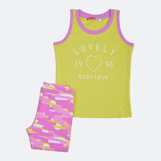 Bodytalk Lovelyinf_Set Tανκ+Pants