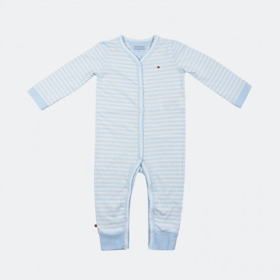 Tommy Jeans Stripe Jersey Baby Coverall