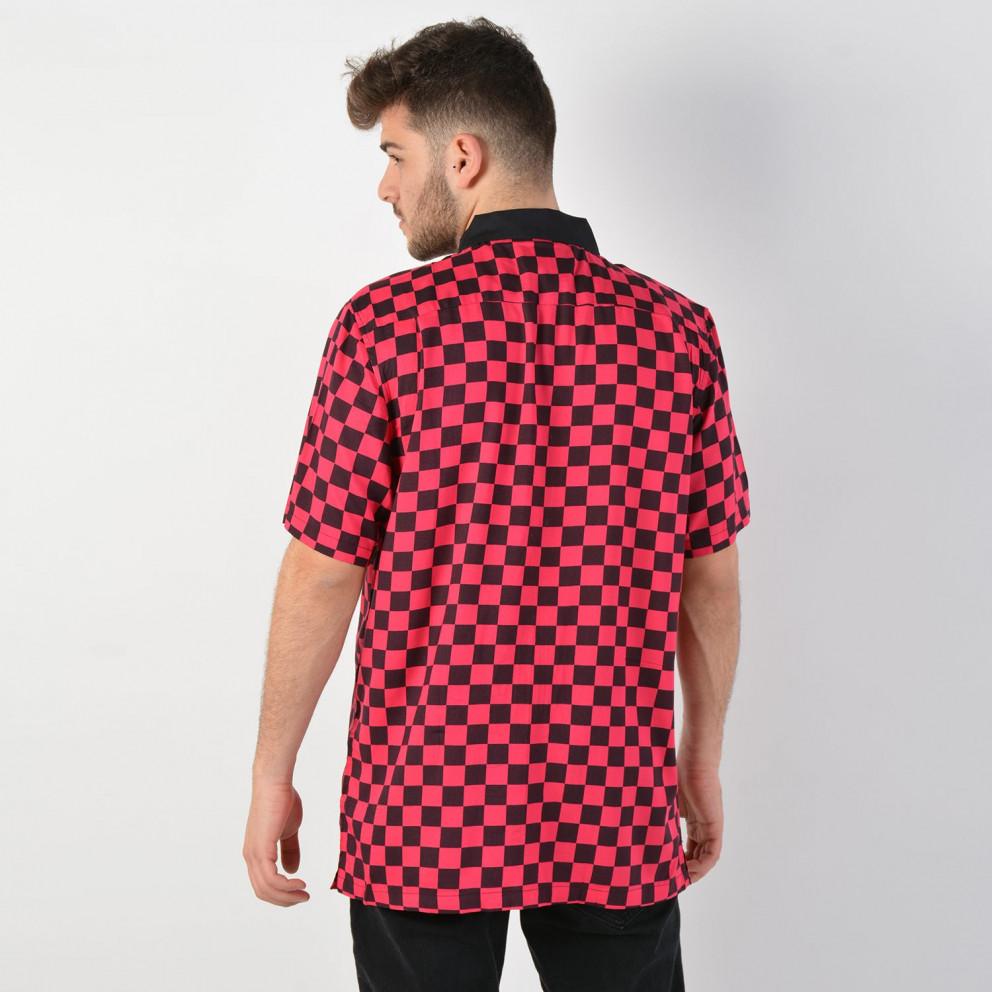 Vans Men's Checkeboard Camp Short SLeeve Buttondown Shirt