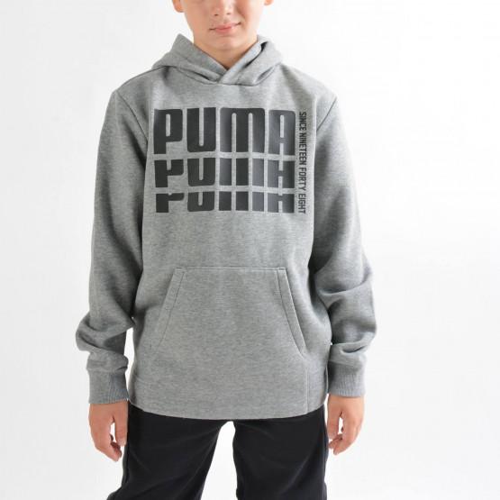 Puma Boys' Rebel Bold Fleece Hoodie