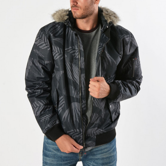 Basehit Men's Jacket Det Hood & Fake Fur