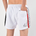 Kappa Men's Authentic Baten Red Black White Swim Shorts