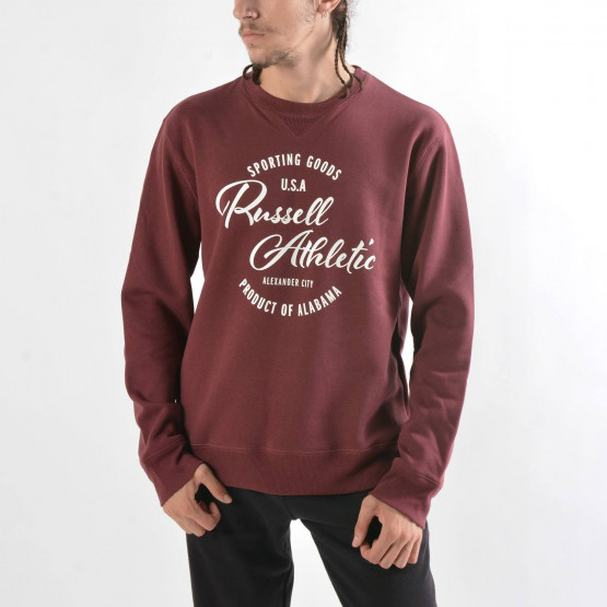 Russell Athletic Crewneck Sweatshirt With Graph