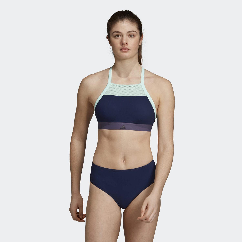 Adidas Women's Halter Swim Bikini Top - Γυναικείο Μαγιό (9000023413_37184)