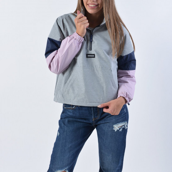 Emerson Women's Pull-over Jacket with Roll in Hood