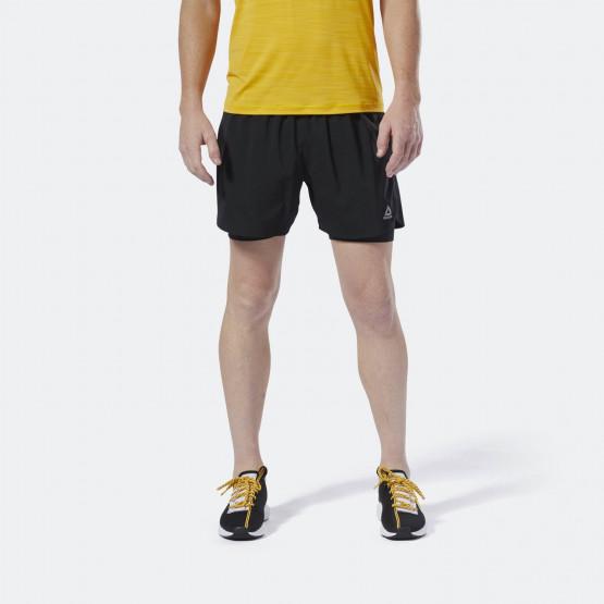 Reebok Sport Men's Run Essentials Two-In-One Shorts