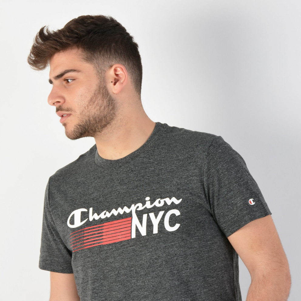 Champion Men's Nyc Crewneck T-Shirt
