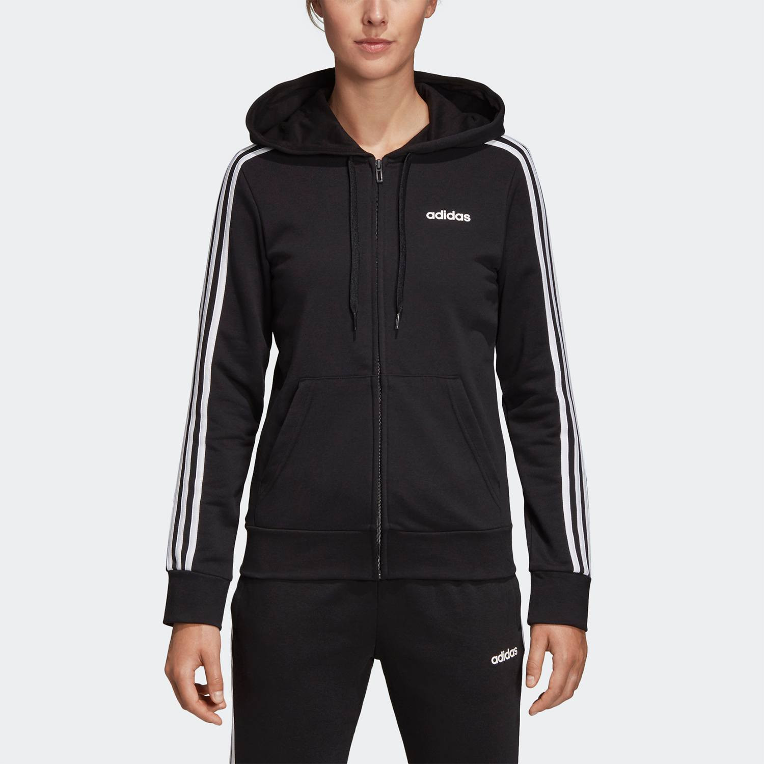 adidas Core Essentials 3-Stripes Women's Track Jacket (9000027566_1480)