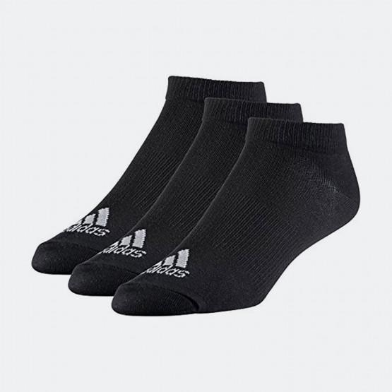 adidas Performance No-Show Thin Socks 3 Pairs