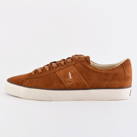 Polo Ralph Sayer Leather Low-Top Trainer photo