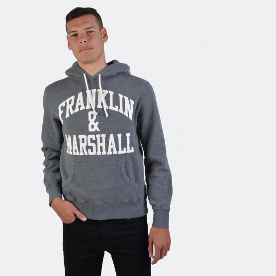 Franklin & Marshall FLEECE COTTON HOODED LONG