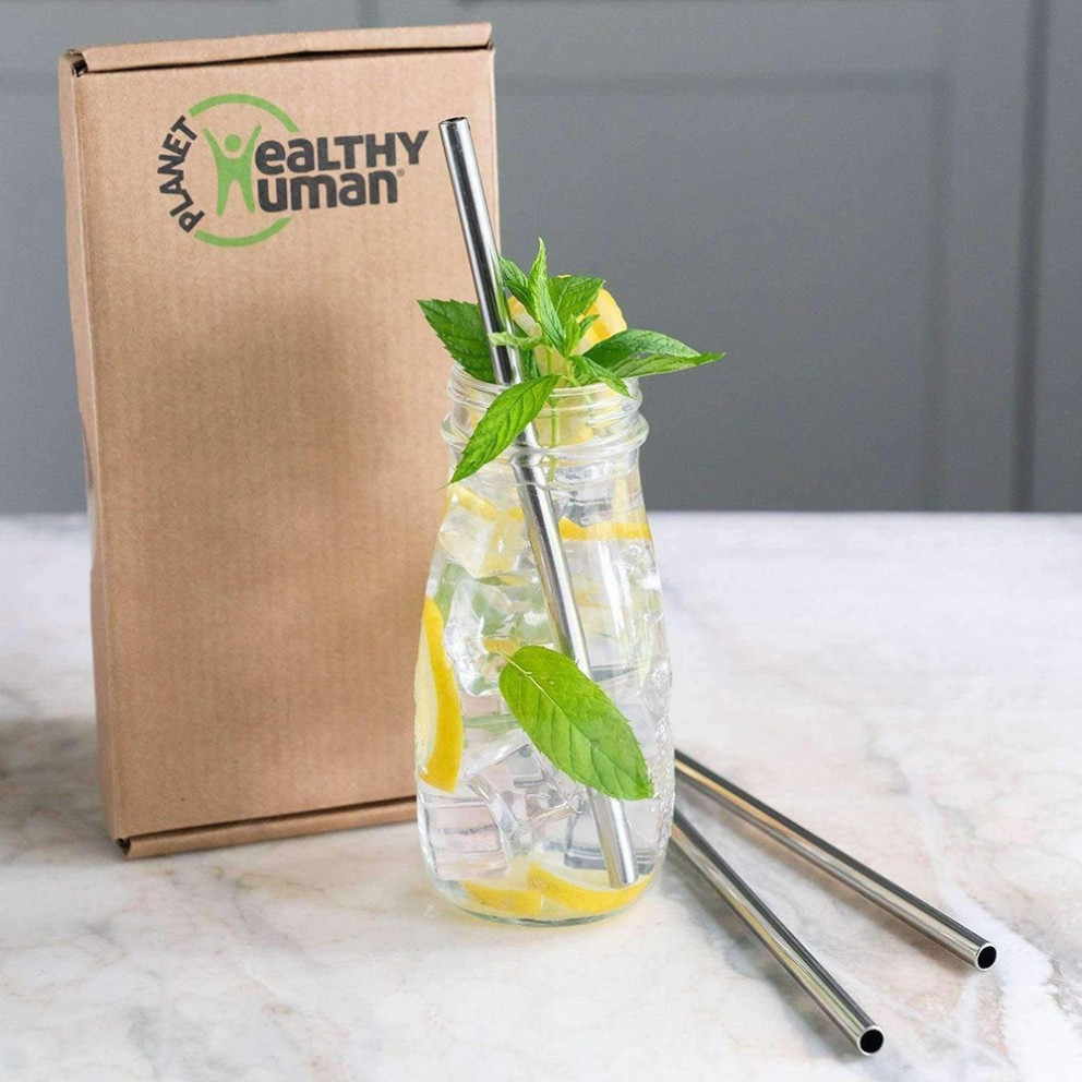 Healthy Human 3 Straw Set