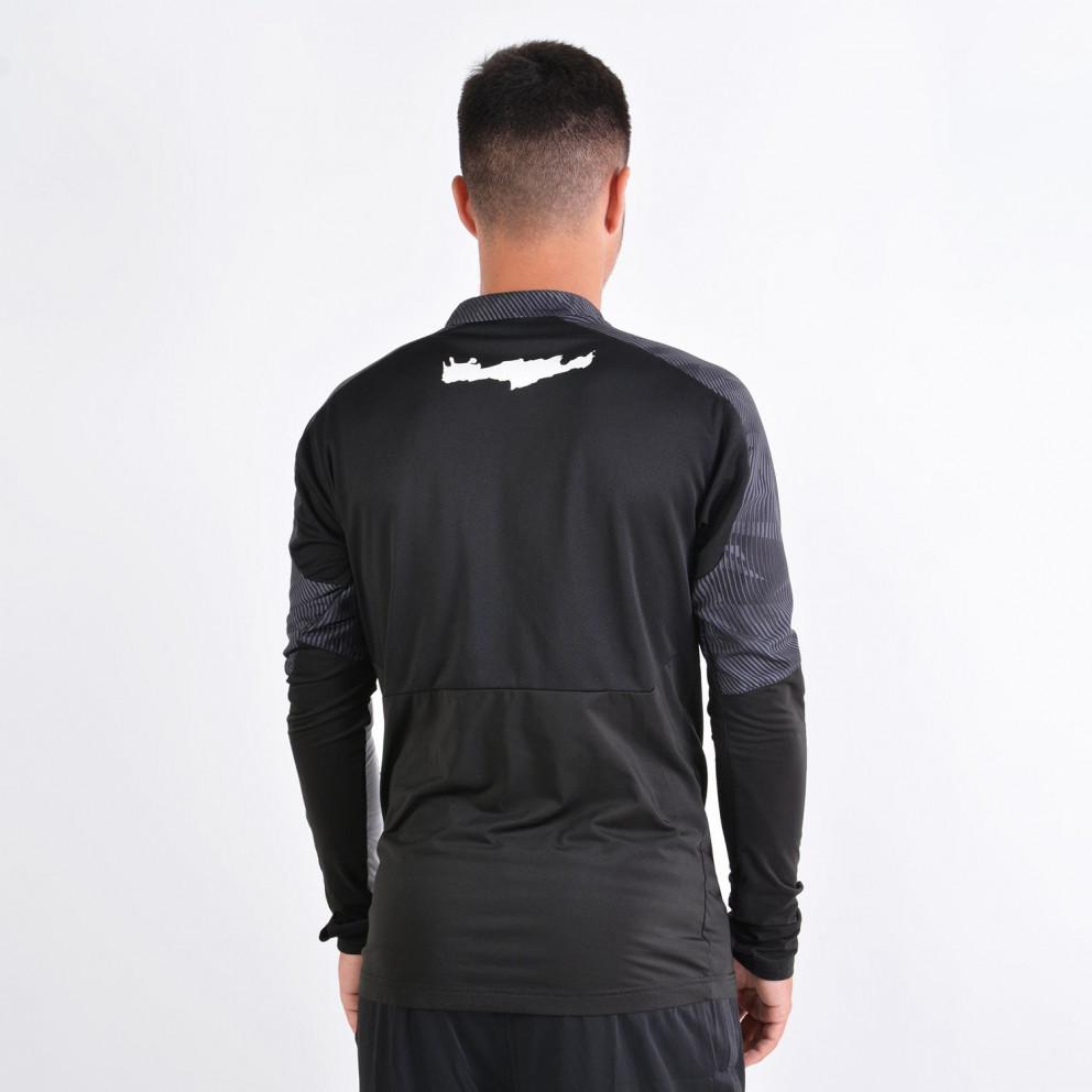 Puma x OFI Crete F.C. Zip Top Ανδρική Προπονητική Μακρυμάνικη Μπλούζα