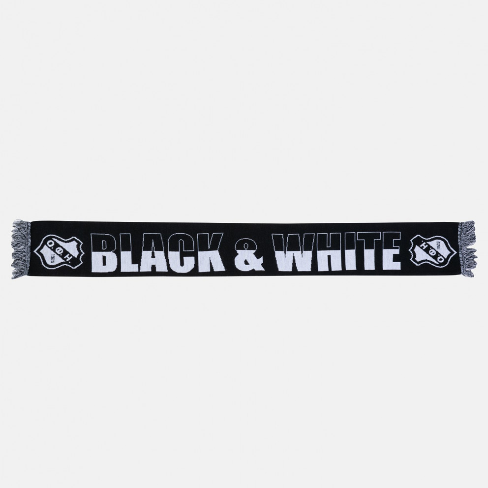"""Ofi Scarf ''genti Koule''/""""black & White"""""""