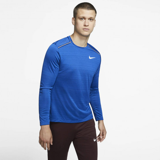 Nike Men'S Long- SLeeve Dri- Fit Miler Top