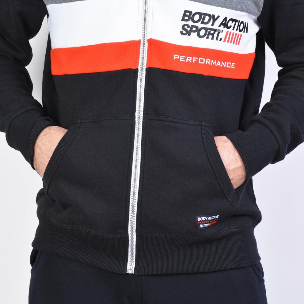 Body Action Men's Jacket - Ανδρική Ζακέτα