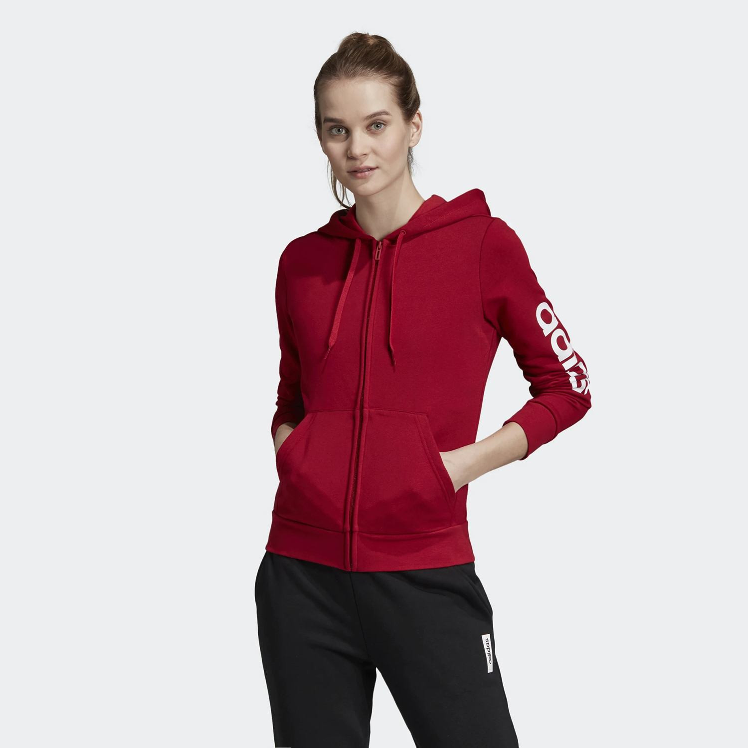 adidas Performance Women's Essentials Linear Hoodie (9000032639_39669)