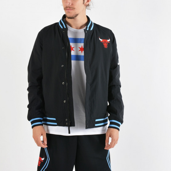 Nike NBA Chicago Bulls Courtside 'City Edition' Jacket - Ανδρική Ζακέτα