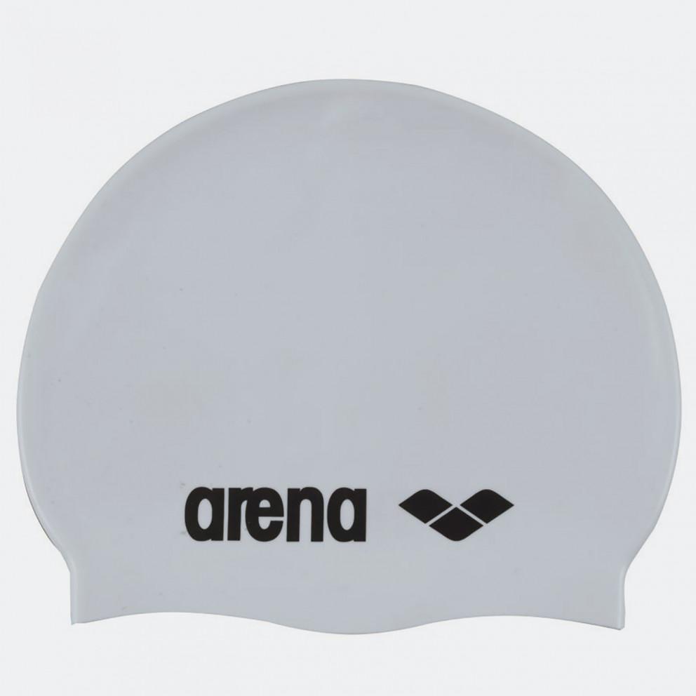 Arena Classic Silicone Caps White-Black