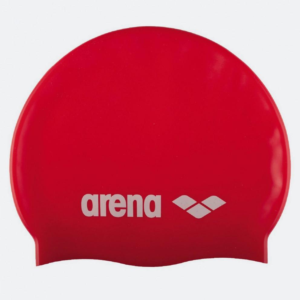 Arena Classic Silicone Caps Red-White