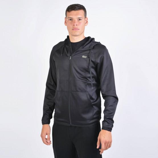 Basehit Men's Hooded Zip Up Track Jacket