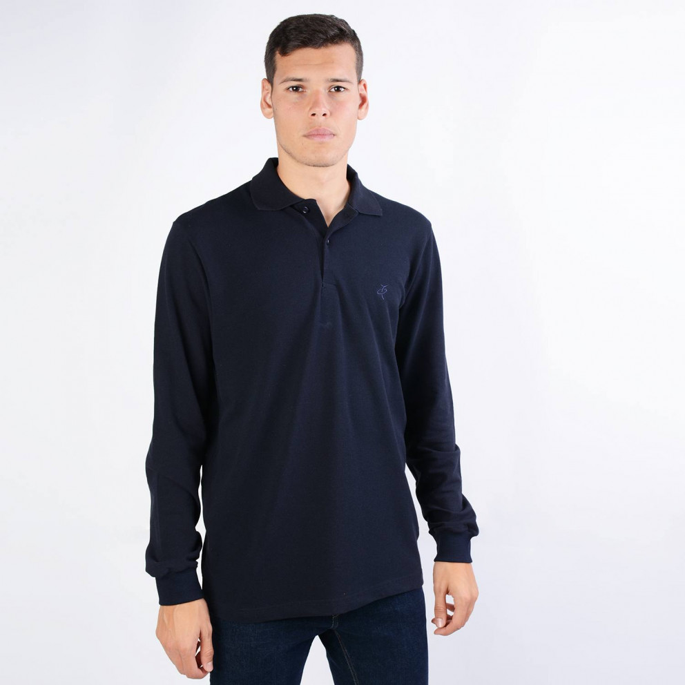 Target Polo Pique Men's Long-SLeeve T-Shirt