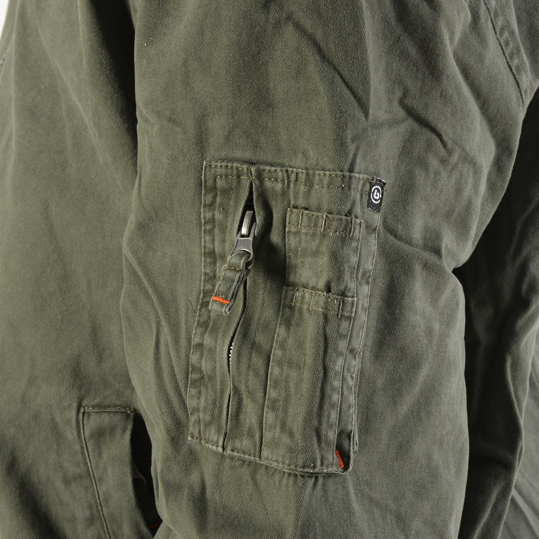Basehit Men's Jacket With Fur Collar
