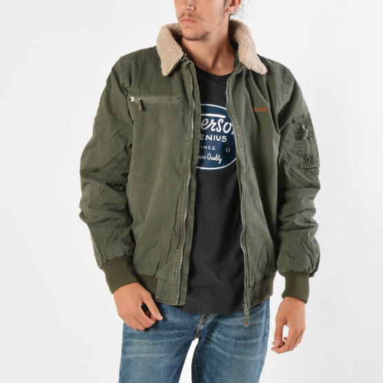 Emerson Men's Jacket With Furon Collar