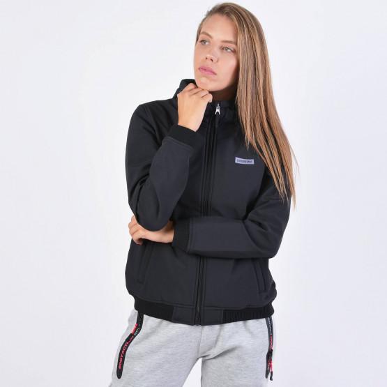 Emerson Women's Soft Shell Rib Jkt With Hood